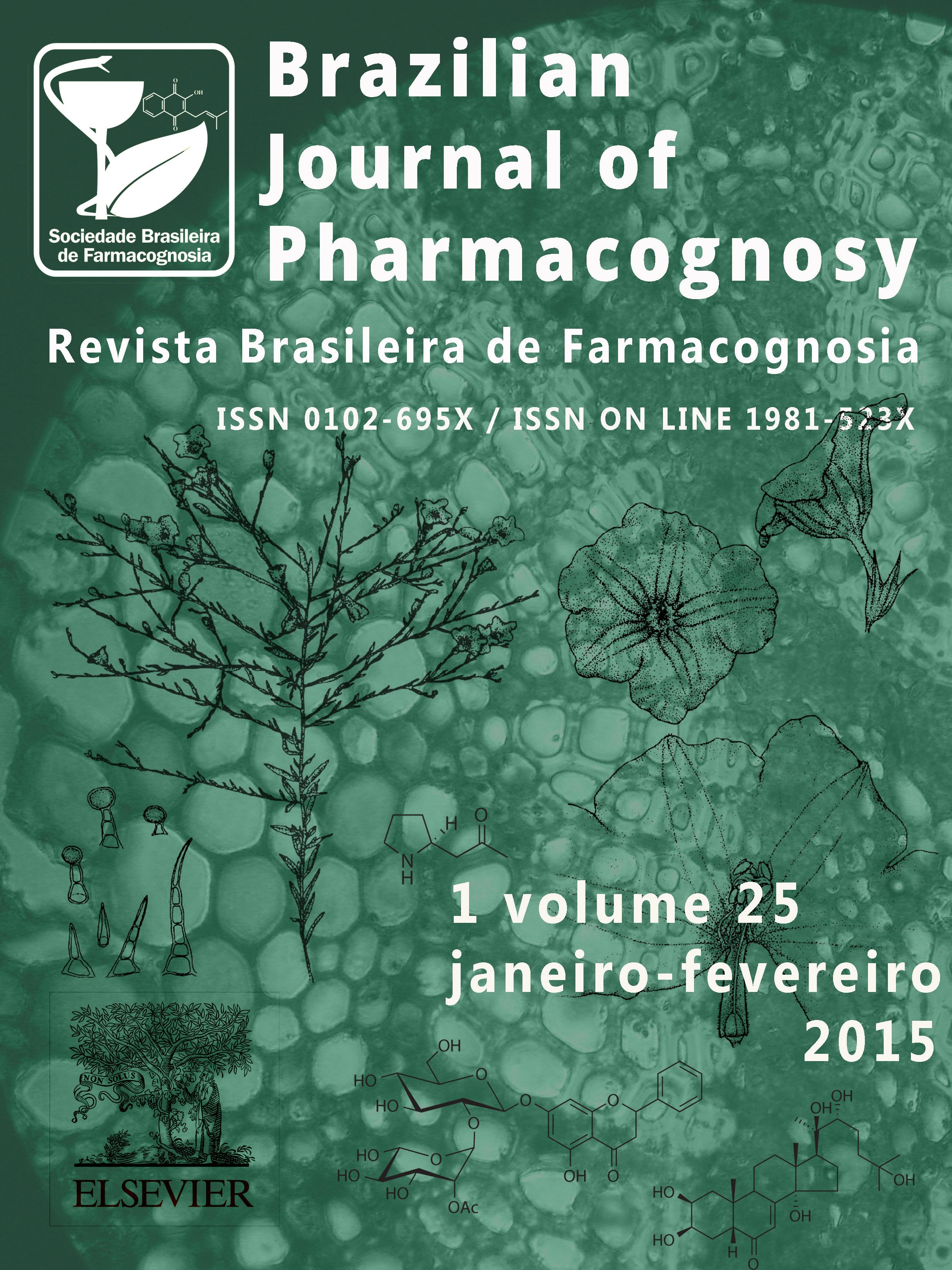 Brazilian Journal Of Pharmacognosy